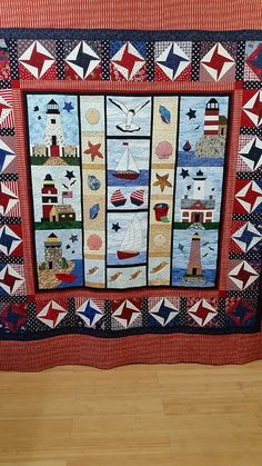 "Some quilts are worth the wait! Dell started this one in 2005 and recently finished it on her ""Frannie Ann"" APQS machine. The background fills are perfect! Thanks for sharing, Dell."