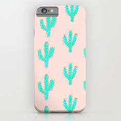 Buy Cactus Print by Bouffants and Broken Hearts as a high quality iPhone & iPod Case. Worldwide shipping available at Society6.com. Just one of millions…