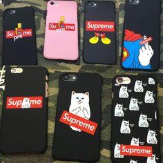 Supreme Simpson Mickey Mouse Superman cat Finger matte Hard PC Phone Cases For iPhone 5 5s se 6 6s Plus 7Plus Cover case fundas #iphone6splus,