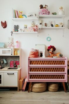 Eclectic and a pop of pink