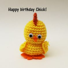 Happy birthday chick.