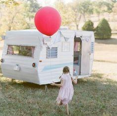 Vintage Camper by amparo