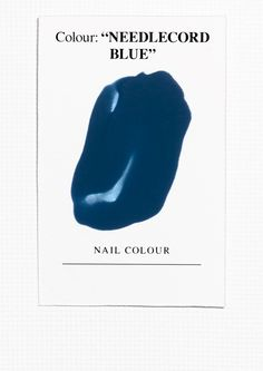 & Other Stories | Nail Colour - Needlecord Blue.
