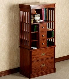 H381 001 Robie Mission Bookcase Http://www.touchofclass.com/. Red OakWhite  OakMedia CabinetChina CabinetCraftsman ...