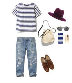 """summer stripes"" by nurmasithap on Polyvore"