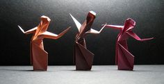 Origami Dancers | Flickr - Photo Sharing!