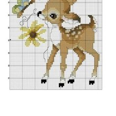 +130 Farklı Kanaviçe Örnekleri ve İşleme Şablonları - Mimuu.com Xmas Cross Stitch, Cross Stitch Boards, Cross Stitch Kits, Cross Stitching, Cross Stitch Patterns, Woodland Baby, Plastic Canvas Patterns, Nursery Rhymes, Quilt Blocks
