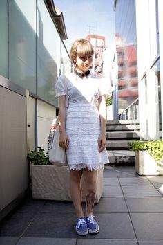 【STREET SNAP】ハンナ   AVANTGARDE   ストリートスナップ   原宿(東京) 