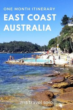 Are you going to Australia for the first time? Learn how you can see the best of east coast Australia in 1 month! I've compiled everything I know about all the best places along east coast Australia a Coast Australia, Visit Australia, Australia Travel, Australia Honeymoon, South Australia, Tahiti, Costa, Airlie Beach, Island Tour