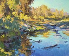 Along the Snake River by Jill Carver Oil ~ 16 x 20