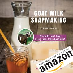 Goats milk soap is a very popular soap to make. You can make it with either fresh goat's milk or you can use goat's milk powder. The milk adds a creaminess to the soap and the sugars in…