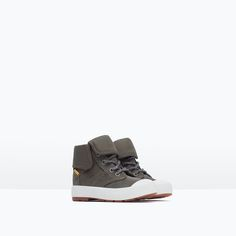 279b5a81ae LINED LEATHER BOOTS-Shoes-Baby boy-Baby | 3 months - 3 years-KIDS | ZARA  Canada