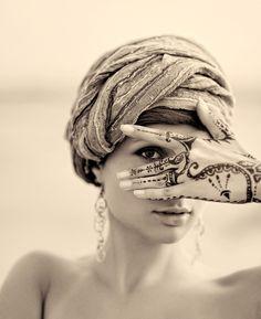 Henna & turban <3