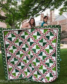 What a Hoot!: Blogger's Quilt Festival #2 - Heather Bear's Gradu...
