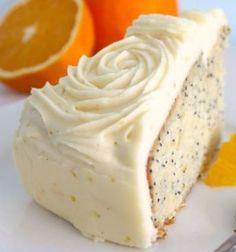 Orange Popp Seed Cake