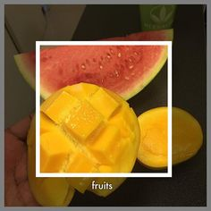 Petite pause #fruits entre 2 rendez-vous ....