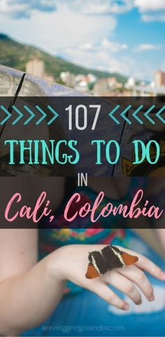 Click to find out about different things to do in Cali, Colombia. On your next Colombia travel or Colombia trip, don't miss out on these activities!