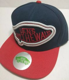 814677effb1 Skater Snapback Hat - Vans Off The Wall - New  fashion  clothing  shoes