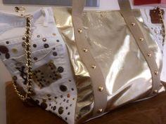 Minibag Preziosa in Gold By Rebeccaj