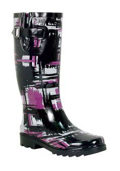 Funky rainboots for the Seattle weather ;-)