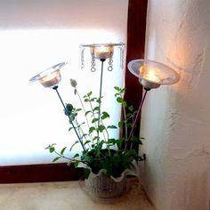 Mich L. in L.A.: Ornamental Bead Sticks! Part Three: DIY Tealight Holders