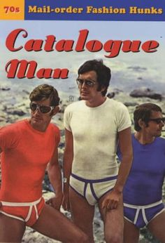 Catalogue Man: 70's Mail-order Fashion Hunks A postcard book: Amazon.co.uk: Books