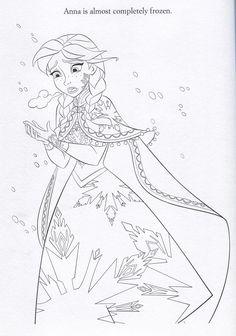 Frozen Coloring Pages Fanpop