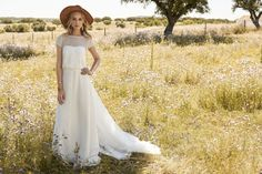 Jana, from the Rembo Styling 2017 collection - bohemian chic bridal fashion