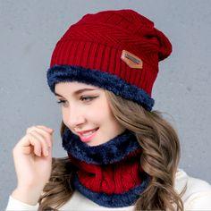 c4606065fb3 Cheap cap neck  Balaclava Knitted hat scarf caps neck warmer Winter Hats  For Men women