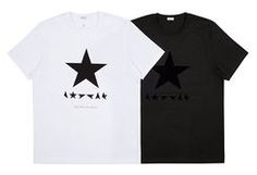 デヴィッド・ボウイに捧ぐ― Paul Smith for David Bowie リミテッドエディション Tシャツ発売中