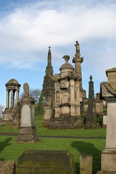 Glasgow Necropolis, Glasgow, Scotland, UK. An amazing way to spend an afternoon.  I never visit Glasgow without going here.