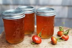 Rosehip marmelade and jelly