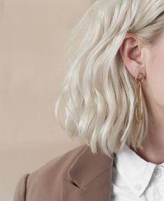 Blondes Haar Schatten: Die 27 Schatten der Saison Blond Hair Shadow: The 27 Shadows of the Season - Hair Inspo, Hair Inspiration, Hair Shadow, Ombre Blond, White Ombre Hair, White Blonde Hair, Blonde Hair Shades, Grunge Hair, Grunge Makeup