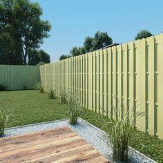 vidaXL Fence Panel FSC Impregnated Pinewood Outdoor Garden Barrier for sale online Scottish Islands, Green Materials, Fence Panels, Construction, Sidewalk, Outdoor Structures, Patio, Outdoor Decor, Beautiful