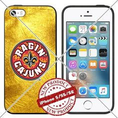 New iPhone SE Case iPhone 5/5s TPU Case Louisiana Ragin C…