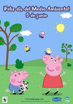 WWF y Peppa Pig celebran la semana del medio ambiente