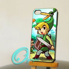iPhone 4/4s case - iphone 5 case - samsung galaxy s3 / s4 case - Legend of Zelda - Photo print on hard plastic on Wanelo
