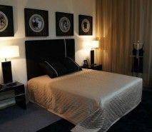 Fotos de decoração de quartos de casal simples | Fotos de Decoração