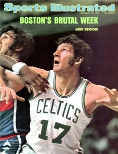 John Havlicek of The Celtics February 18 1974