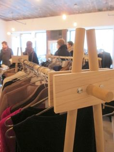 DIY Clothing Rack idea