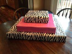 Pink/Zebra Theme Birthday Party Ideas   Photo 6 of 14   Catch My Party