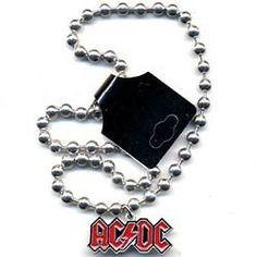 【特別価格】【エーシーディーシー】 アクセサリー AC/DC LOGO/BALLCHAIN NECKLACE 問屋に替わる卸売・仕入れサイト スーパーデリバリー