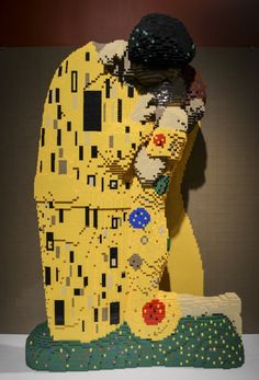 The Art of the Brick | the dancing rest - The Art of the Brick, the world's most elaborate LEGO display at Discovery Times Square New York Museum.