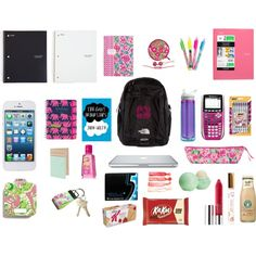 """""""Backpack"""" by haylayread on Polyvore"""