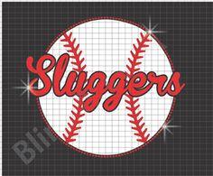 Baseball rhinestone vinyl design download