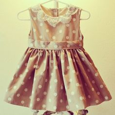 Jason Wu Dresses For Little Girls Jason Wu Polka Dot with Lace