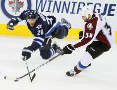 """""""It's easy to play well once a week. It's hard to play well and have good games three times a week,"""" Blake Wheeler says.    """"You need to find that consistency level, and that's not just in hockey, it's in life."""""""