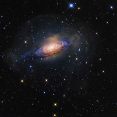 The Bubble Galaxy, NGC3521 in Leo- detail