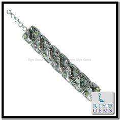 Mother of Pearl Silver Jewelry Riyo Gems www.riyogems.com