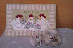tea time hens  image only